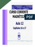Curso Corrente Magnetica - Aula 12 - Cap 16 e 17 (9p)