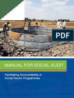 Social Audit Training Manual
