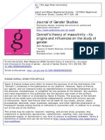 Wedgwood, Nikki -- Connell's Theory of Masculinity – Its Origins and Influences on the Study of Gender. Journal of Gender Studies Volume 18 Issue 4 2009