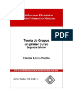 Teoria de Grupos - Lluis Puebla, Emilio