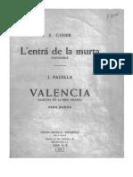 Valencia pasodoble
