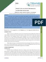 6. IJMPERD - Design, Development and Analysis of Differential