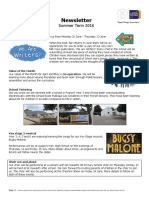 Summer Term 2016 Newsletter 1