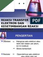 Reaksi Transfer Elektron