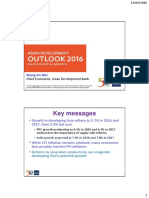 「アジア経済見通しセミナー」(2016年4月13日)配布資料