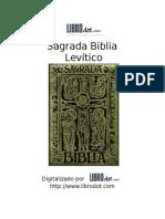 Anonimo Biblia, La Antiguo Testamento 03 Levitico