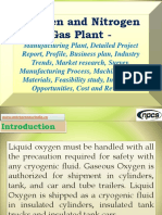 Oxygen and Nitrogen Gas Plant - Manufacturing Plant, Detailed Project Report, Profile, Business plan, Industry Trends, Market research, Survey, Manufacturing Process, Machinery, Raw Materials, Feasibility study, Investment Opportunities, Cost and Revenue