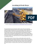 Titanium mining in Kwale Kenya.pdf