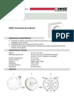 Herz-3F79100-Termostat Mecanic de Ambient