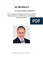 2016.05.03+Revenue+Trifecta_30+Profit+Multipliers+Checklist