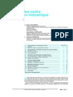 Estimation Des Coûts en Production Mécanique (1999)