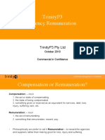 Agency Remuneration Principles