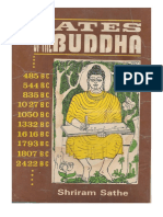 Dates of the Buddha