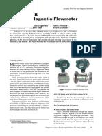 Yokogawa ADMAG AXR Two-wire Magnetic Flowmeter