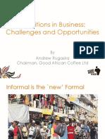 URA OMF Presentation by Andrew Rugasira - Copy