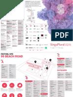 Singaplural 2016 Festival Map