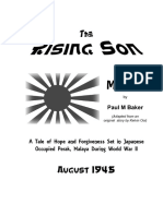 Script of the hit musical The Rising Son