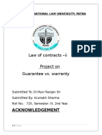 Contracts - II