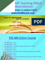 FIN 486 CART Teaching Effectively Fin486cartdotcom