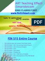 FIN 515 MART Teaching Effectively Fin515martdotcom