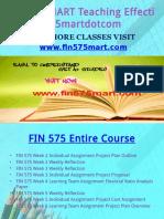 FIN 575 MART Teaching Effectively Fin575martdotcom