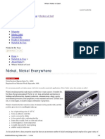 Where is Nickel Used