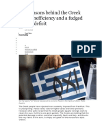 Real Reasons Behind the Greek Crisis