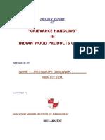 Greviance Handlind Iwp Report (2)