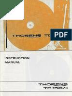 Thorens TD150mkII