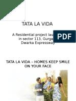 Elegant living project - Tata La Vida - sector-113-Gurgaon