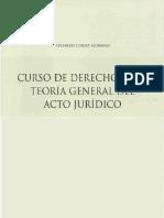 Curso de Derecho Civil - Teoria General Del Acto Juridico - Eduardo Court Murasso