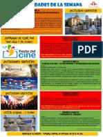 Actividades de la Escuela de Español 09 - 15 Mayo