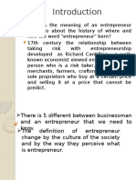 Entrepreneurial Behavior (Homestay)