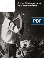 Arms Management and Destruction photo book