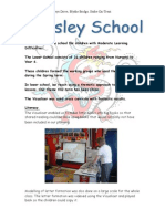 Aynsley school visualiser