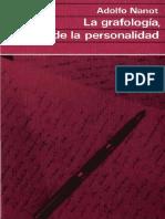 Adolfo Nanot - La Grafologia, Espejo De La Personalidad.pdf