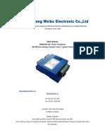 Wb6830r2 2b 1 3 Phase Power Transducer