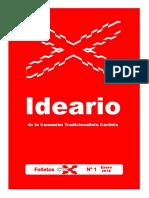 Folletos CTC Nº 1 Ideario de la CTC FORMATO DIGITAL