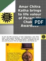 Amar Chitra Katha Brings to Life Valour of Param Vir Chakra Awardees