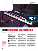 Korg TR Music Workstation