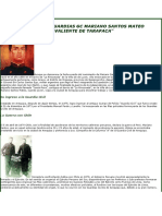 Inspector de Guardias Gc Mariano Santos Mateo