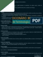 Dicionário de Terminologia Arquivística