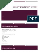 Solar Energy Measurement System