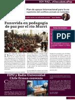 Boletín mes de abril- Funuvida- Proyecto Qantu