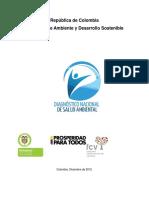 Colommbia Diagnostico Nacional de Salud Ambiental 2013