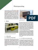 Photo Typesetting