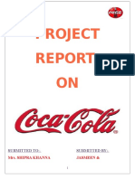 project report on coca cola.doc