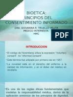 BIOETICA Consentimiento Inform