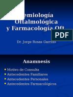 2. Semiologia Oftalmologica Farmacologia Oftalmologia Basica 5º 12.03.15