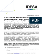Informe Nacional 1-5-16